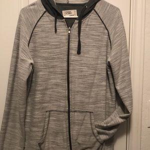 Men's gray hoodie - EUC - size L